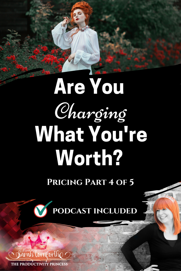 Pricing and Productivity - Are You Charging What You're Worth?