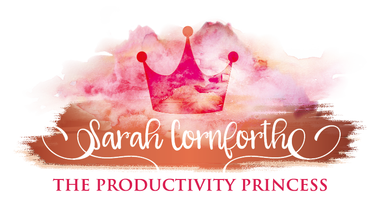 Hi I'm Sarah, The Productivity Princess