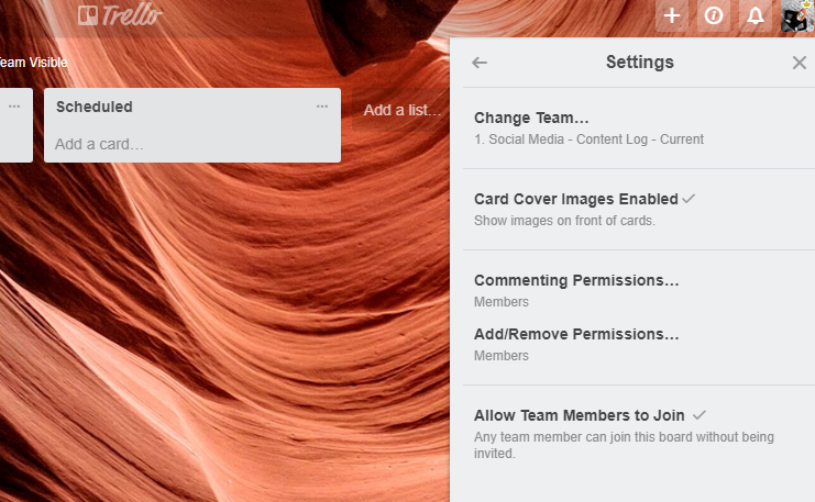 How to show images on a Trello card
