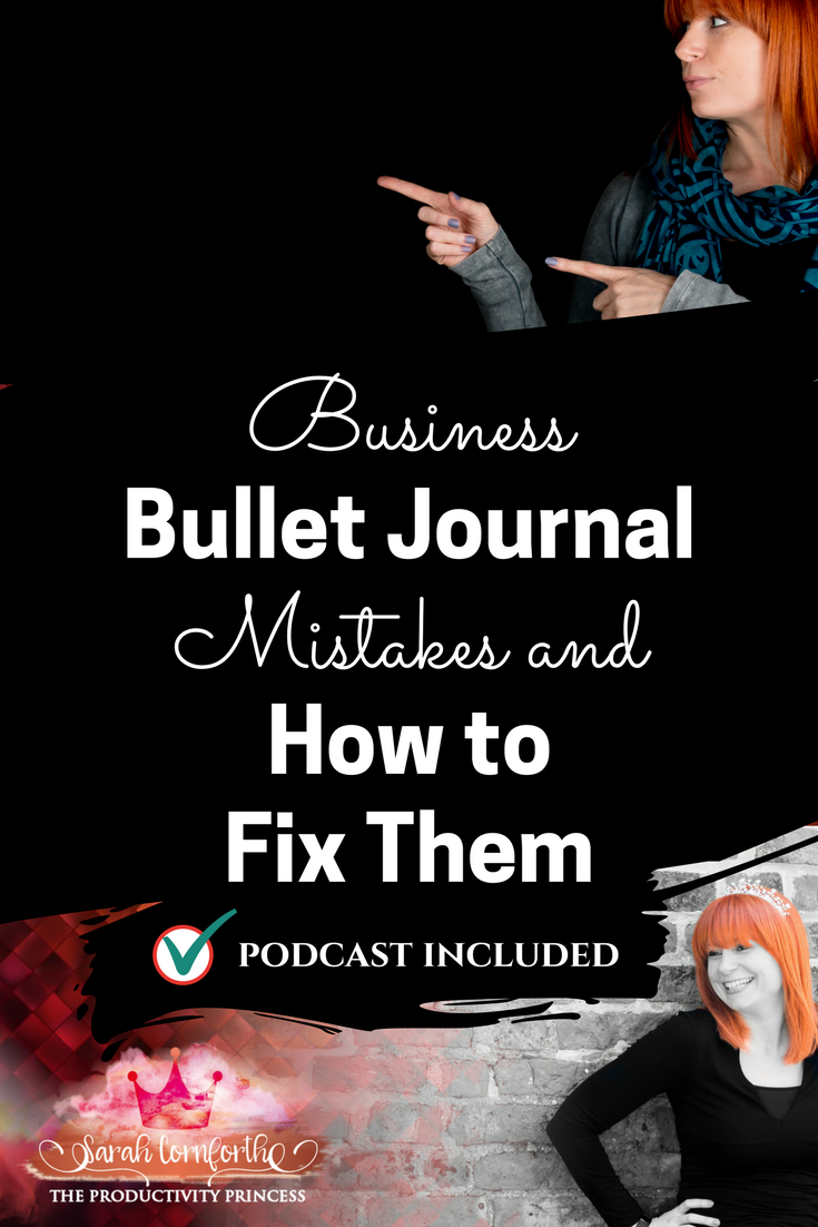 Business Bullet Journal Mistakes and How to Fix Them