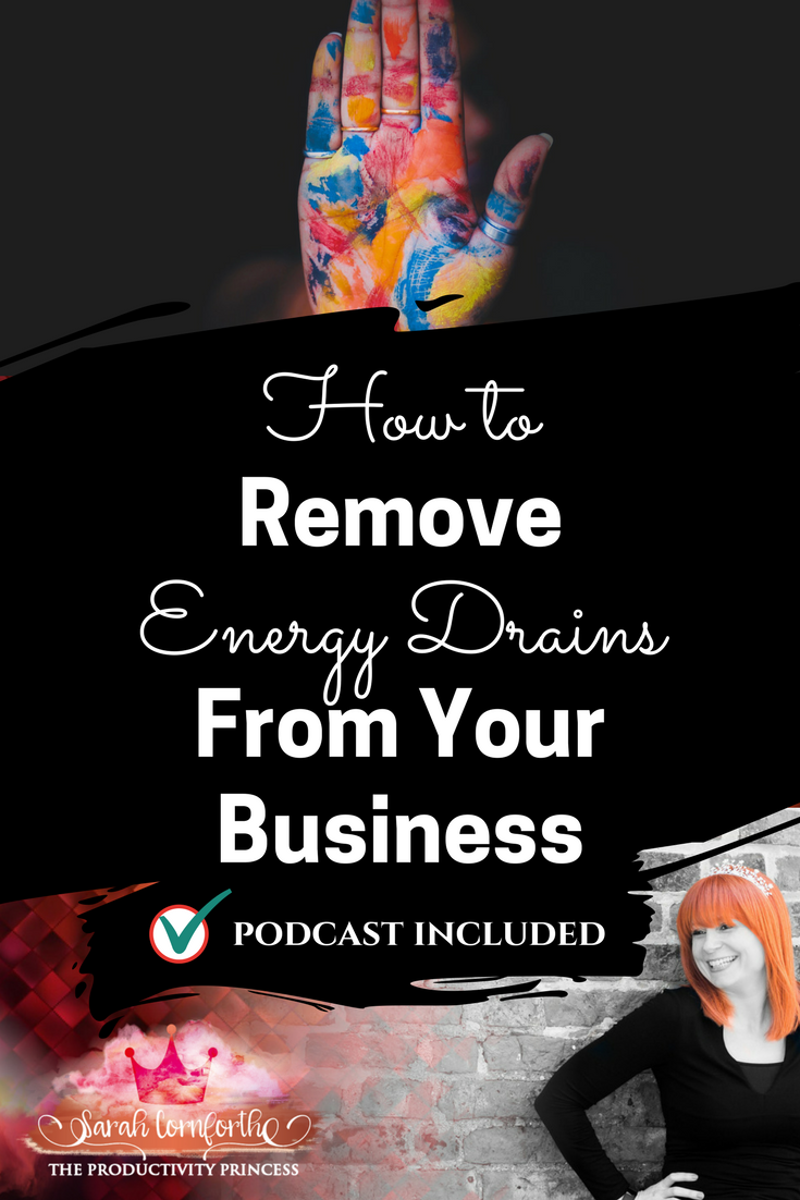 How to Remove Energy Drains from Your Business