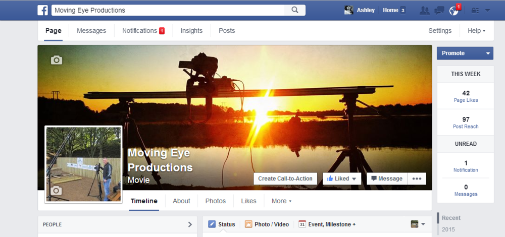 New Facebook Page - LAUNCHED!