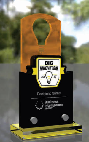 Trophy The BIG Innovation Awards Recognize Those Organizations And People Who Bring New Ideas To Life Whether That Idea Is Big Or Small