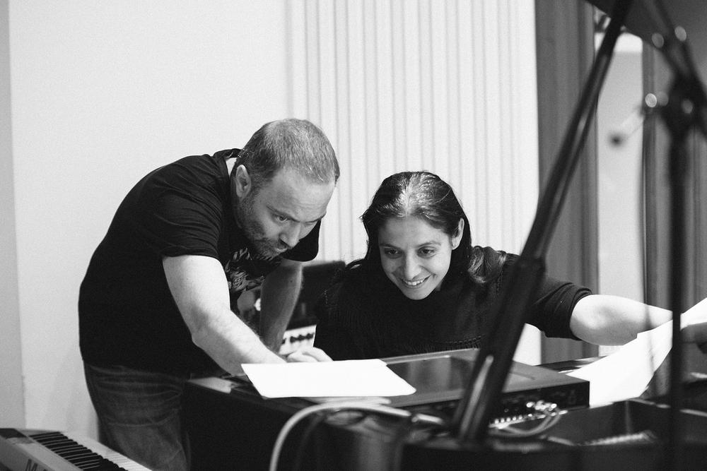 Gibson Studios - rehearsals with Areti Giovanou