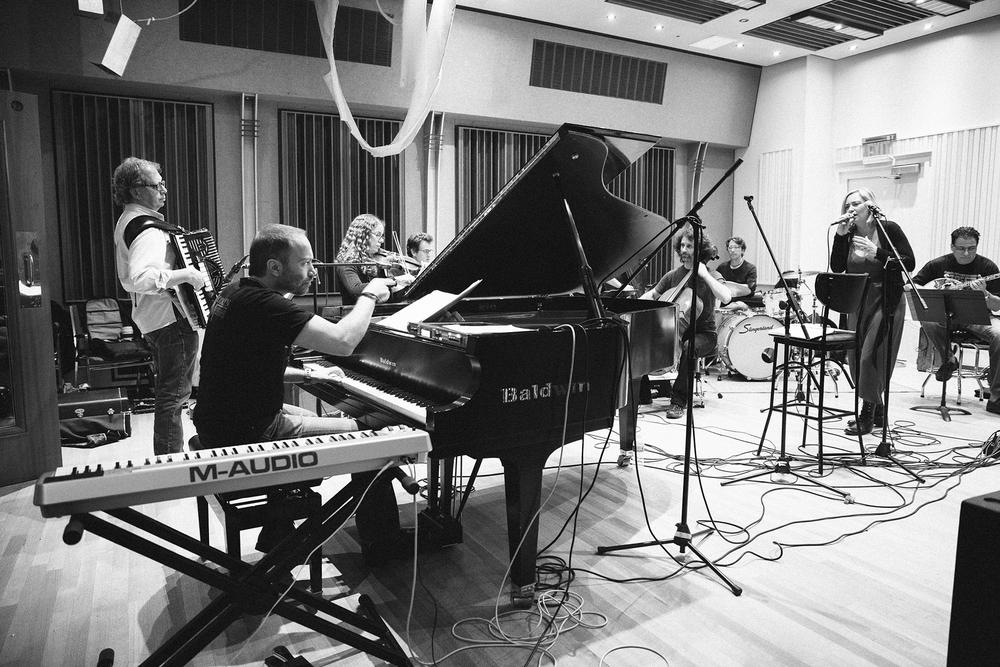 Gibson Studios - rehearsal with Rita Antonopoulou