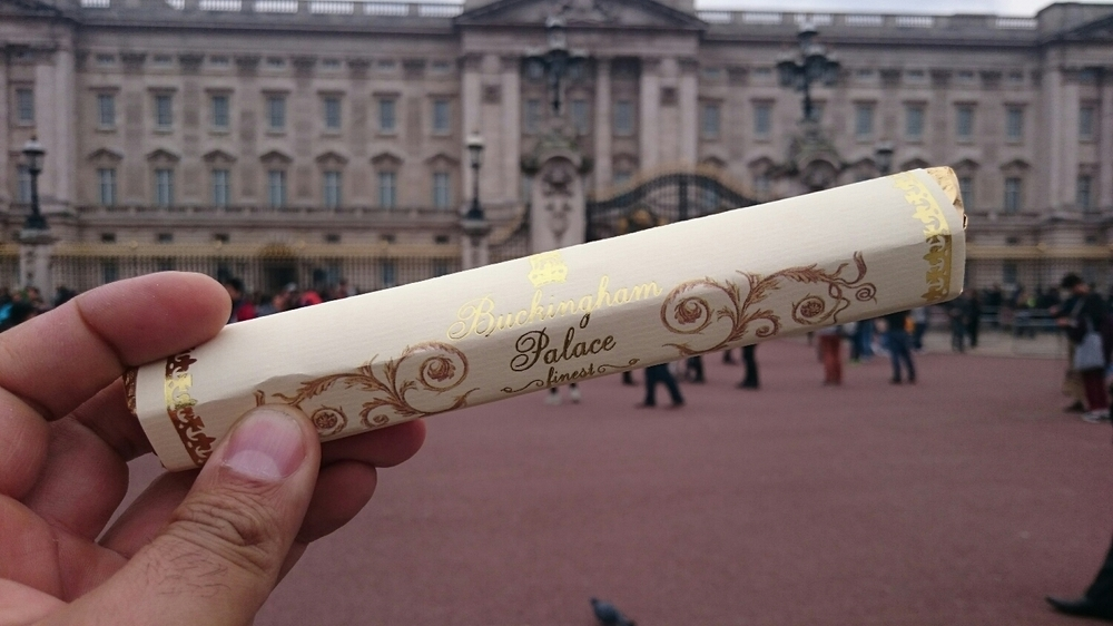 (The Queen shared her chocolates with us)