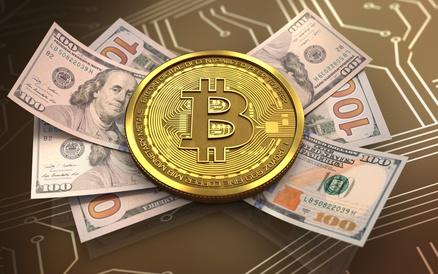 3d bitcoin banknotes