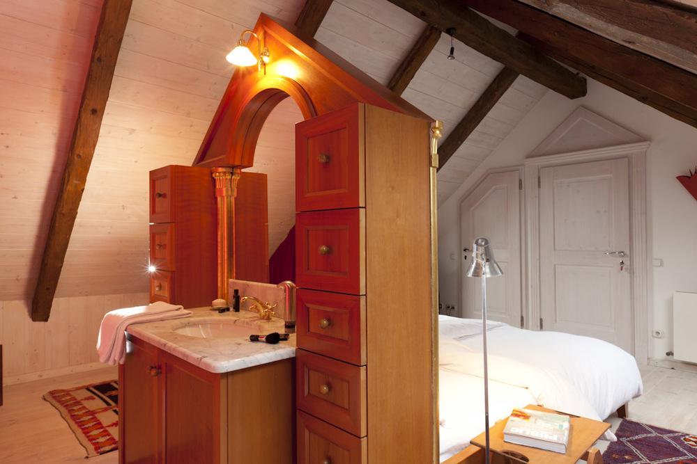 Waschbecken Giebelzimmer