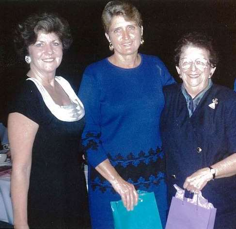(L to R): Dorothy Gibbons, Dr. Dixie Melillo and Rosalie Kuntz