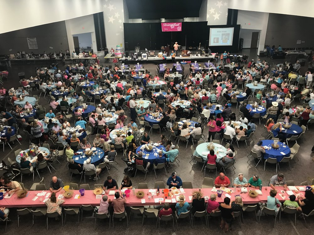 2017 Shrimp Boil at the Pasadena Convention Center