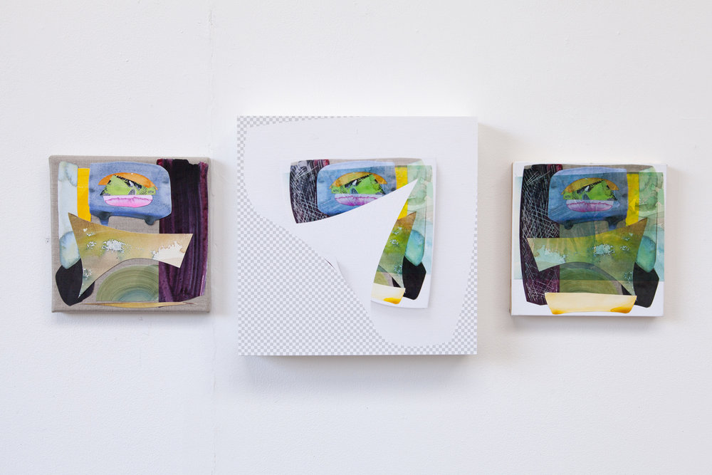 Improved mistake (triptych), 2017