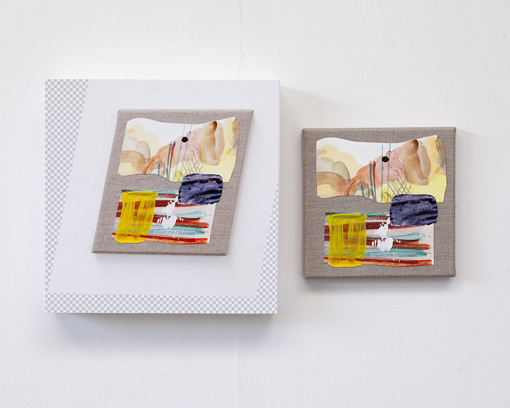 Amber Beauty (diptych), 2017