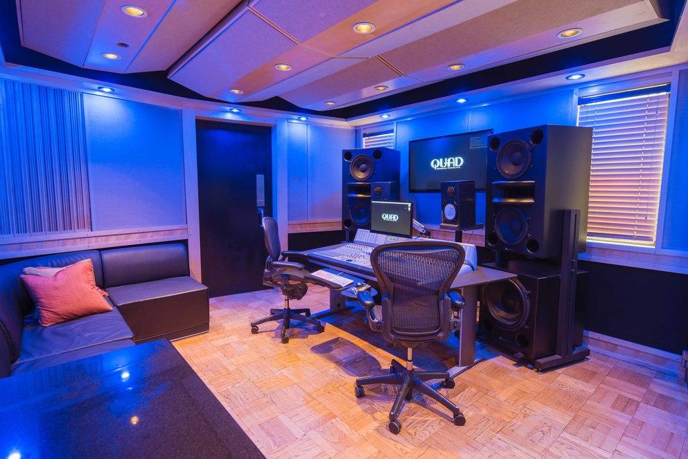 Quad Recording Studios Studio Q2
