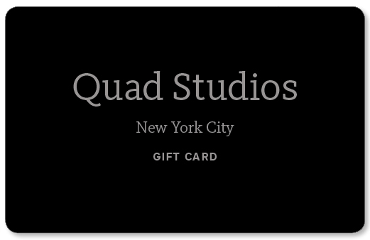 The Q Card - Call the studio for info (212) 730-1035
