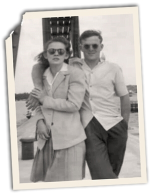 Harvey and Lorna Reeds. Photo courtesy the Reeds family.