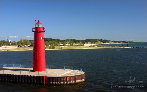 One last glimpse at Michigan's beautiful western shore.