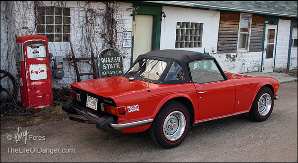 The Triumph TR6. Classic and timeless.