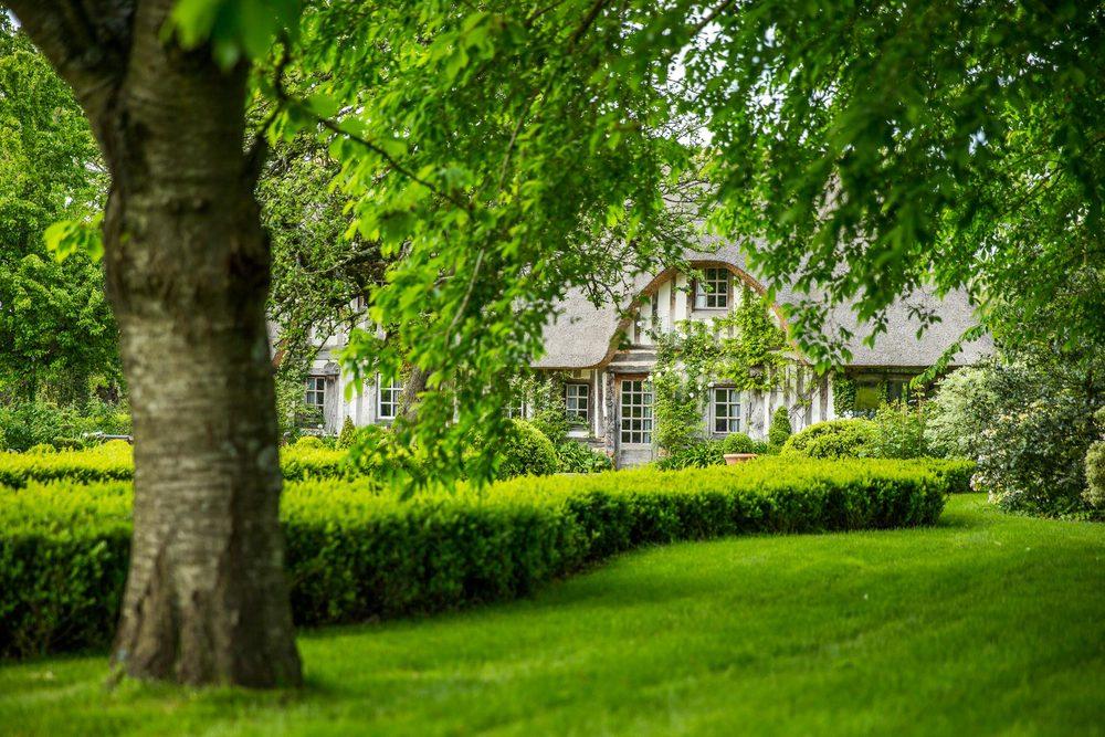 Le parc du Domaine d'Ablon en Normandie