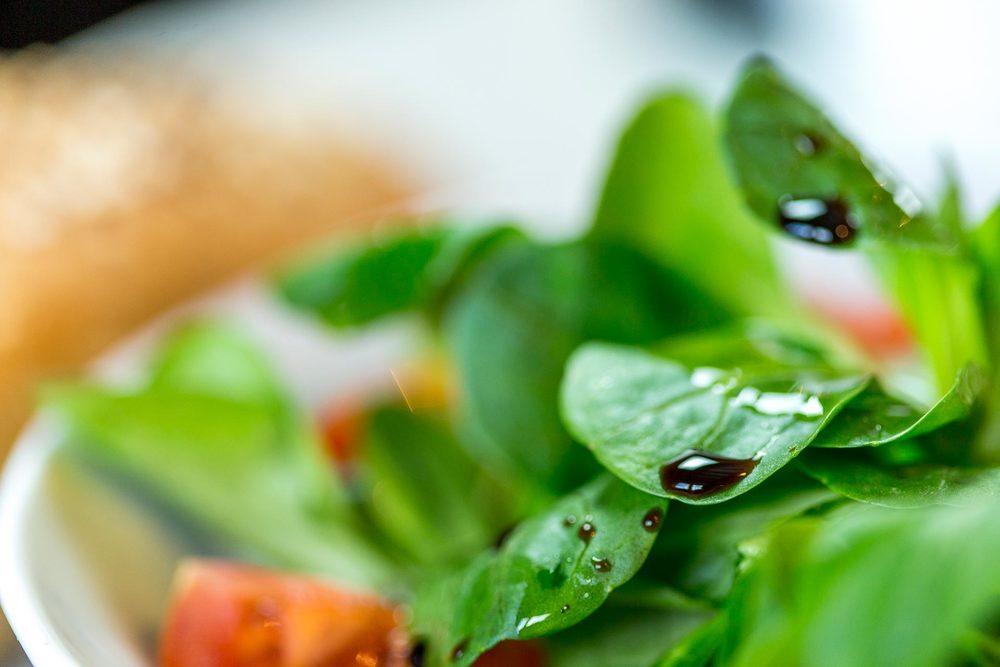 Salade verte et croquante du Domaine d'Ablon