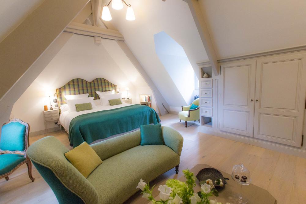 Suite grand luxe au Domaine d'Ablon