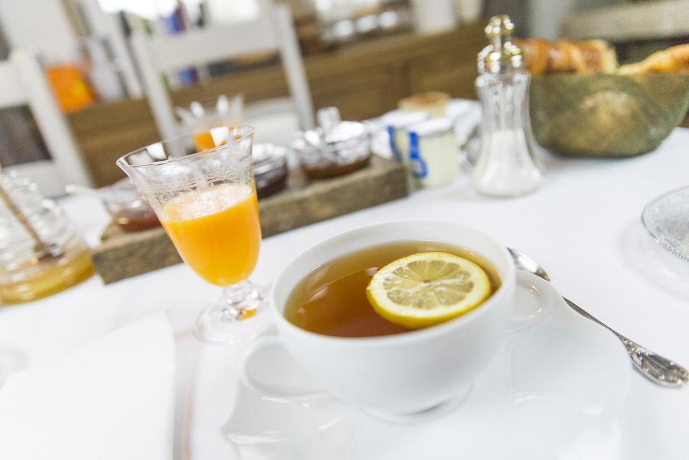 Petit déjeuner Domaine d'Ablon