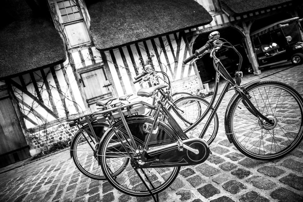 vélos électriques domaine d'ablon
