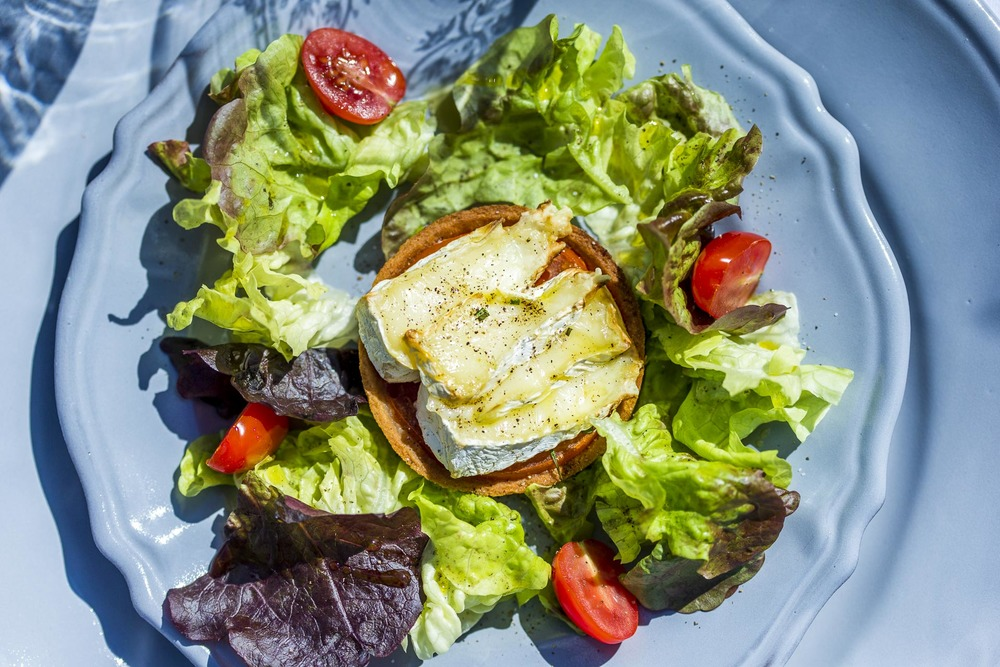 tartelette au camembert