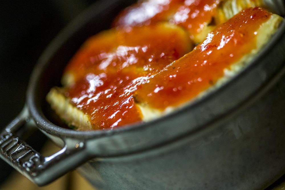 pommes de terre grenaille au camembert