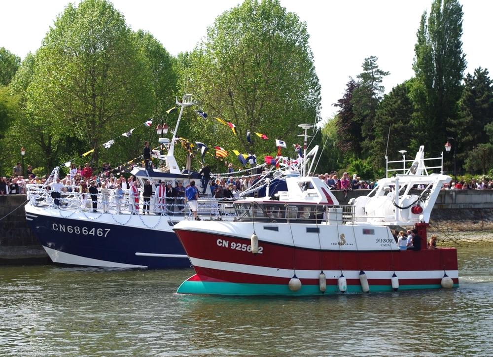 bénédiction des bateaux Honfleur