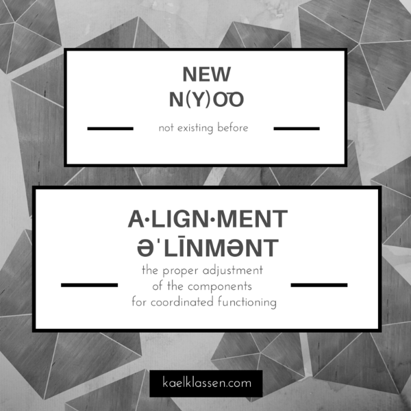 New Alignment