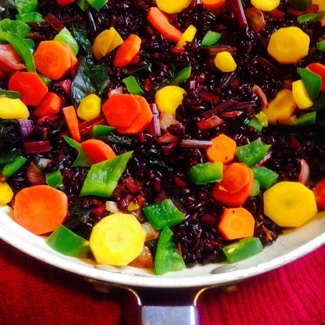 Wild Rainbow Rice