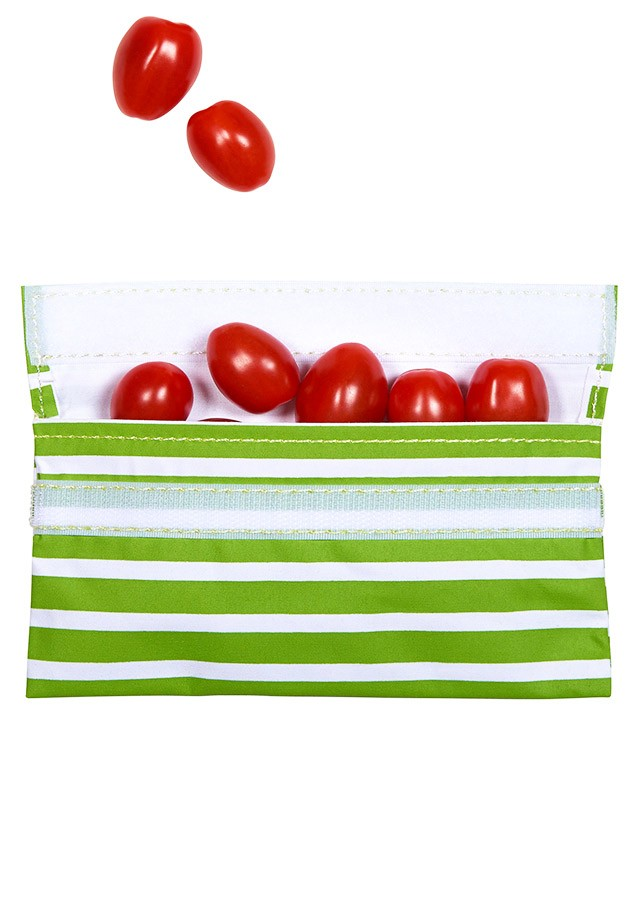 Lunchskins reusable Velcro sandwich bag by 3 Green Moms