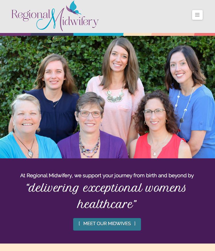 Regional Midwifery Website