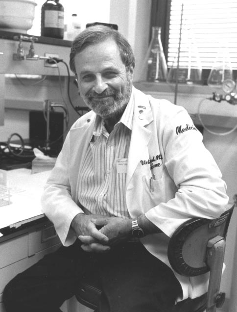 Dr Tisman's mentor: Victor Herbert, M.D. Chief of the Department of Nutritional Anemias at the Bronx V.A. Hospital, N.Y. World renowned hematologist and expert on B vitamin metabolism. 1927-2002