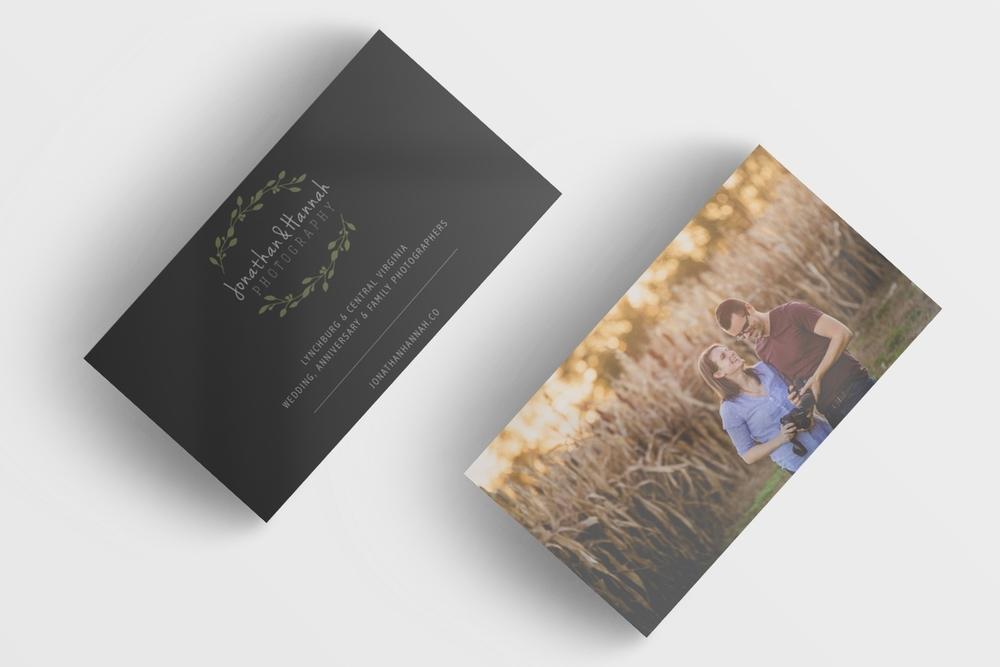 jonathan hannah photography business cards
