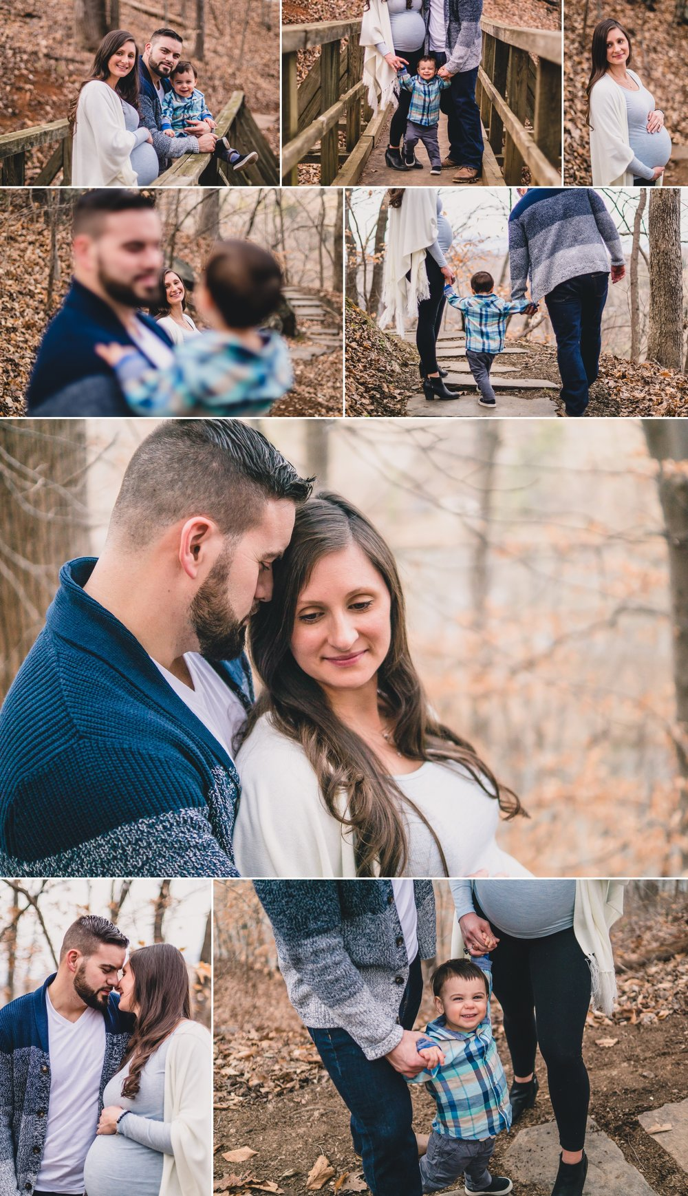 maternity session at riverview park lynchburg va