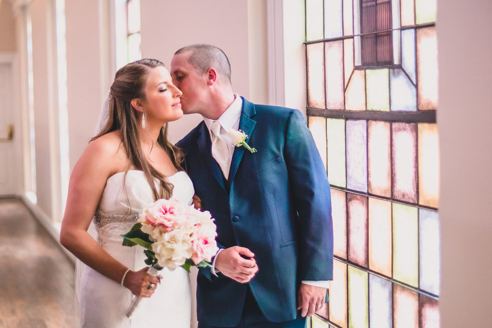 elegant wedding at old pate chapel liberty university lynchburg va