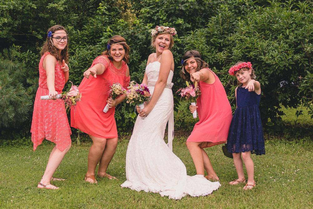 rustic backyard wedding lynchburg va by jonathan hannah photography