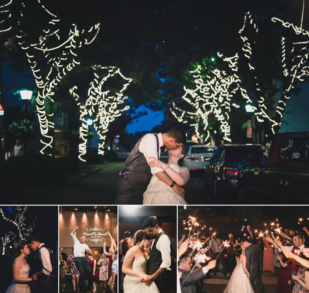 fairytale downtown wedding at the historic post office in hampton virginia by jonathan hannah photography