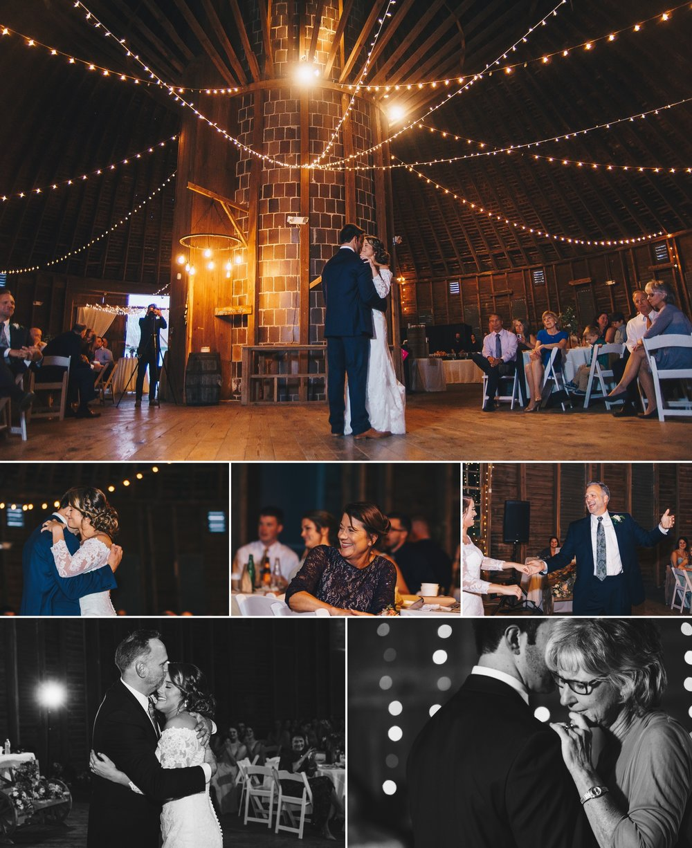 shabby chic rustic apple orchard wedding at historic round barn gettysburg pa by jonathan hannah photography