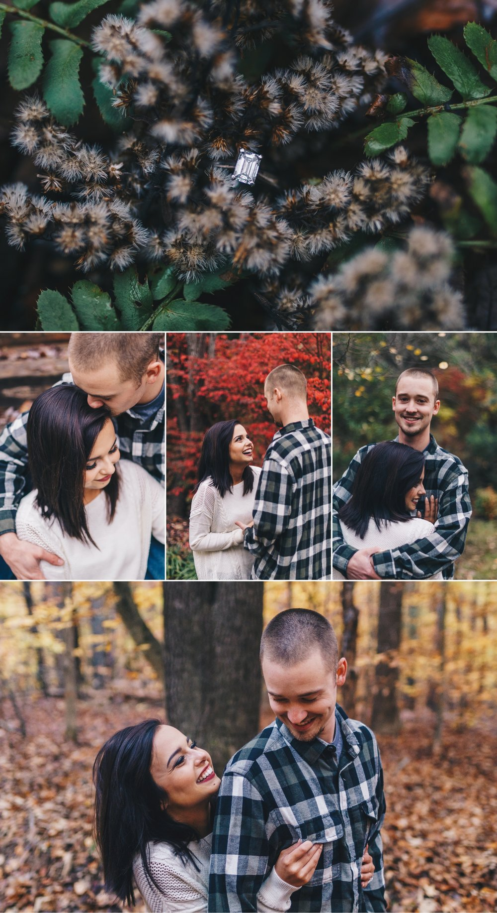 autumn fall engagement session lynchburg va by jonathan hannah photography