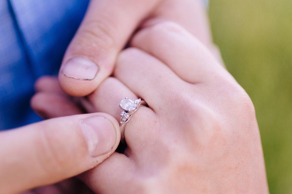 Virginia Mountain Top Engagement Lynchburg VA Jonathan Hannah Wedding Photography