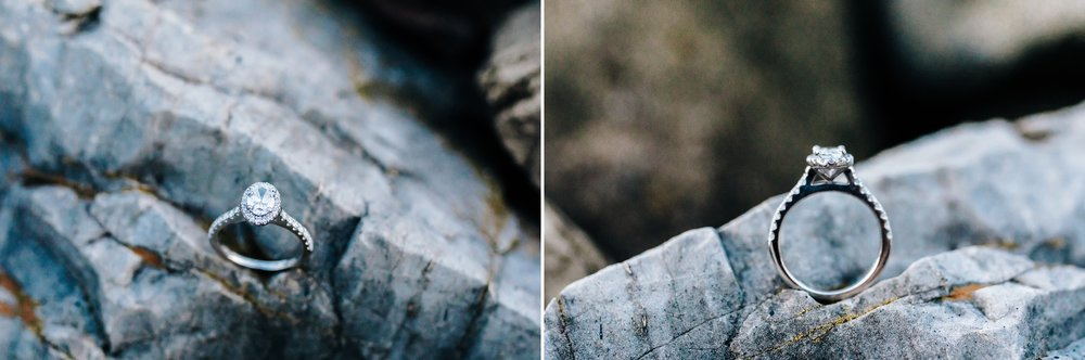 Engagement_ring_on_rock_at_smith_mountain_lake_by_Jonathan_and_hannah_photography
