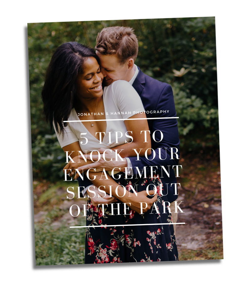 5 tips to knock your engagement session out of the park - jonathan and hannah photography