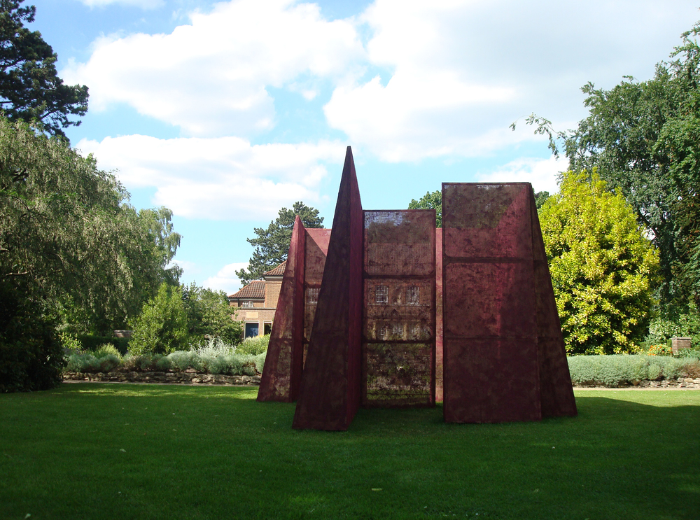 "2010 ""Labyrinth"" Harold Martin Botanic Garden, Leicester, England."