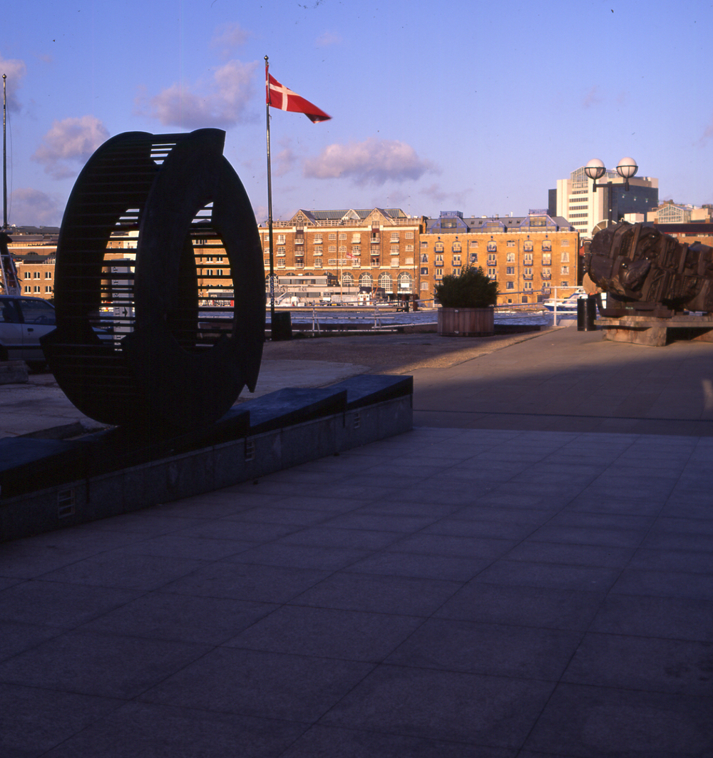 "1992 ""Wheel of Progress"" site specific, the Design Museum, London. Image Nick Morris."