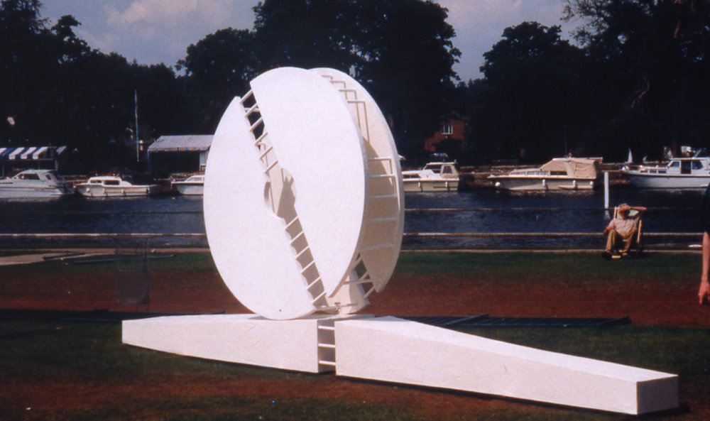 "1997 ""Untitled"" site specific, Henley on Thames, Oxfordshire."