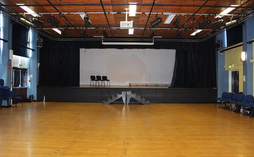 Acting and Drama Hall with Stage