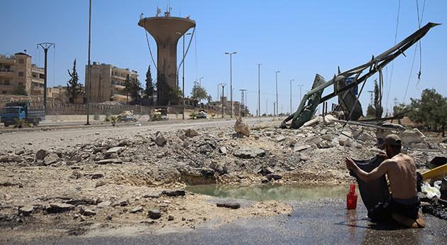 La ciudad que el regimen de Siria destruyo ©MauricioMoralesD
