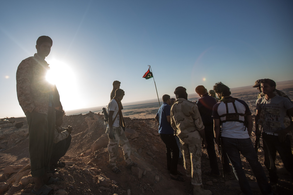 Tuareg fighters secure Tendi mountain, this key position marks the control of the roads near Sharara oil fields.